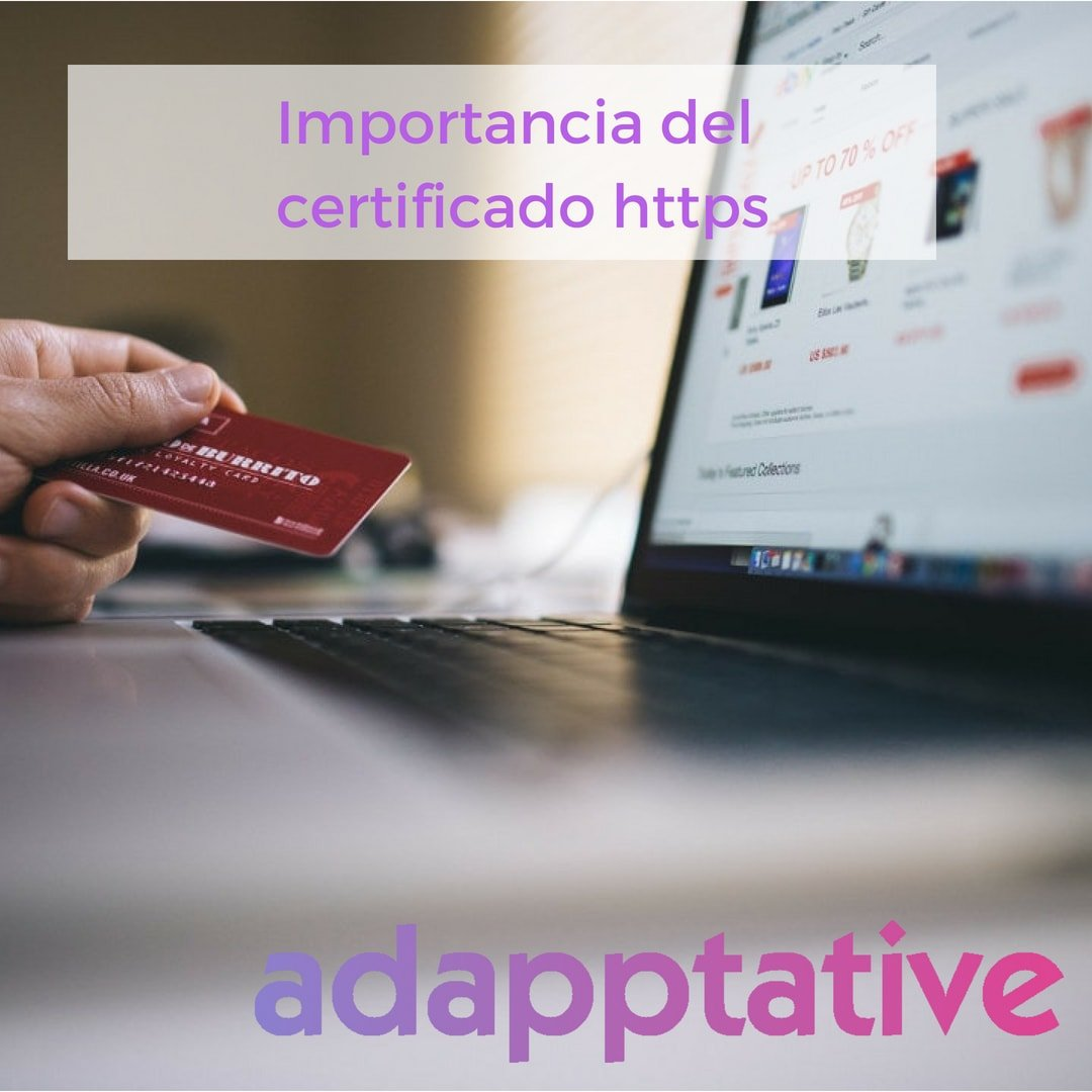 Importancia del certificado https