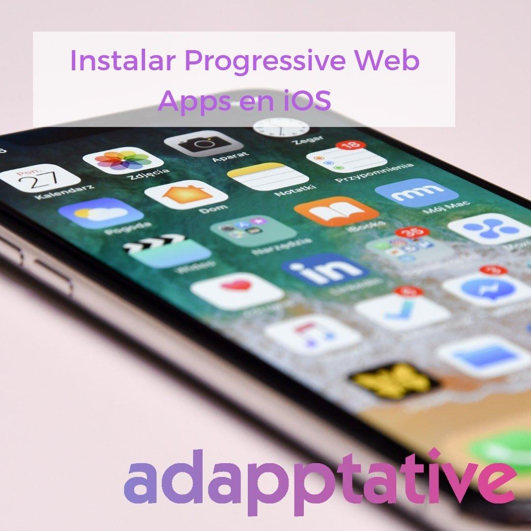 Instalar PWA en iOS
