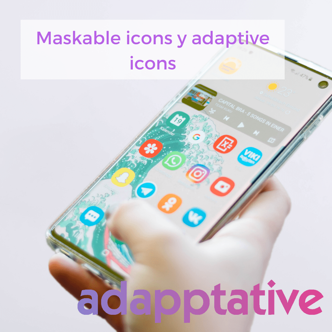 Maskable icons y adaptive icons
